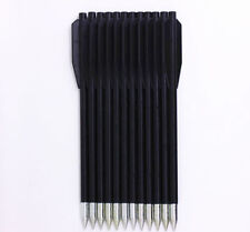 100PCS Replacement Arrows Bolts 50 80 lb. Plastic Black Darts Crossbow Mini Bow