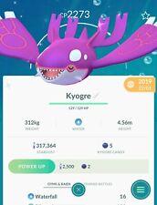 🐳POKEMON GO SHINY🐳✨ - KYOGRE (Registered or 30 Days)