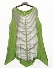 LUUKAA by D'celli Sommer Tunika Tunic Tunique XL 48 50 Lagenlook