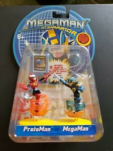 Mega Man Nt Warrior Protoman Vs Megaman Mattel Figure NEW Sealed #61