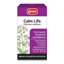 RICH CALM LIFE LANES QUIET LIFE 100 TABS HERBAL SEDATIVE * STRESS & INSOMNIA