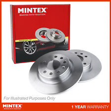 New Fiat 9 128AS 1.5 Genuine Mintex Front Brake Discs Pair x2