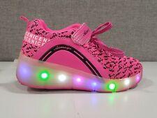Sdspeed Kids Roller Skate with Single Wheel Shoes Sport Sneaker Led Size 6.5