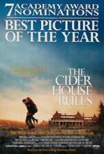 THE CIDER HOUSE RULES MOVIE POSTER 2 Sided ORIGINAL ACADEMY 27x40 TOBEY MAGUIRE
