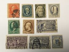 old stamps USA x 10