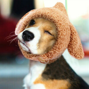 Winter Warm Dog Cat Hat Cute Costume Dog Accessories For Small Pet Christmas Cap
