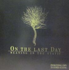 On The Last Day(CD Album)Meaning In The Static-Victory Records-VR316