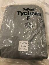 Dupont Tychem F Hazmat Suit Tf169tgy Size Xxl