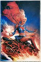 DCeased #2 Anacleto Virgin Variant NM+ Supergirl Legion Super Heroes 23 Homage