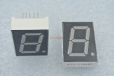 5pcs 1 inch 1 Digital 7 Segments Led display Red Common Anode