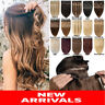 THICK One Piece Clip in Remy Human Hair Extensions 3/4Full Head Any Colours P277