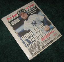 12/14/2001 Yankees Sign Jason Giambi New York Post Complete Newspaper