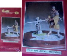 a Figurino CASTEL 90 mm - IRISH GALLOGLAS (XVI century)