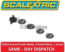 Scalextric ROUND guida lama, 4 TRECCIA piatti, 1 VITE C8329