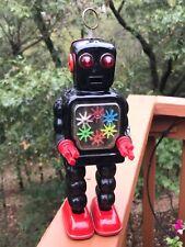 Rare Ko  YOSHIYA  High Wheel 6 gear  wind up Robot