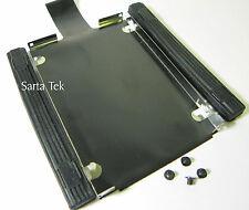 IBM Lenovo T400 T520i W520 T410 T60 Hard Drive Caddy tray Rubber Rails & Screws