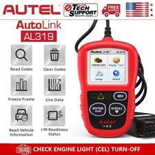 Autel AL319 OBD2 Car Scanner Clear Fault Code Reader Tool MIL Engine Check I/M