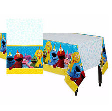 Sesame Street Plastic Table Cover Birthday Party Decoration Supplies Table Cloth