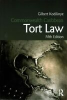 Commonwealth Caribbean Tort Law, Paperback by Kodilinye, Gilbert; Anderson, R...