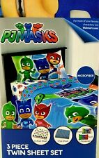 PJ Masks- 3 piece Kids Bedding Sheet Set