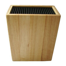 Knife Block Wood knife Block Black Knife Block Storage Holds 20 Rectangle