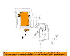 GM OEM Side Glass-Frame Left 15954256