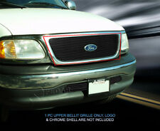 99-03 Ford F150 Black Billet Grille Grill Insert Fedar