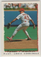 1995 Topps Baseball Saint Louis Cardinals Team Set with Traded