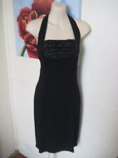 Wayne Cooper Retro Styled Slinky Halter Dress size 2
