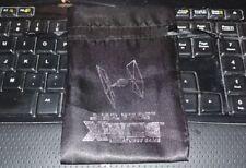 Star Wars X-Wing Miniatures Tie Fighter Dice Bag 2015 Spring Promo FFG