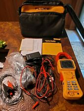 Fluke 345 Power Quality Clamp Meter And Accessories In Soft Case Excellent
