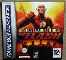 JUSTICE LEAGUE HERO THE FLASH NINTENDO GAMEBOY ADVANCE BRAND NEW FACTORY SEALED