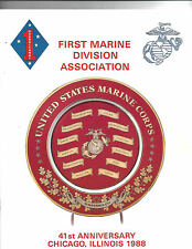 1988 First Marine Division Association Reunion UNITED STATES MARINE CORPS USMC