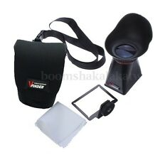 LCD Viewfinder 3:2 2.8x Magnifier Extender Hood V3 for Canon EOS 600D 60D T3i