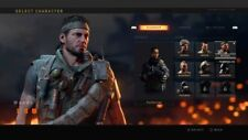 Call of duty black ops 4 Character Unlock Blackout Skins ps4 Read description!!!