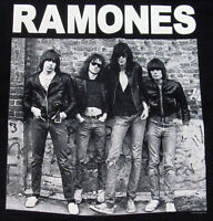 RAMONES T-shirt STANDING Vintage NYC Punk Rock Tee Adult X-Large XL Black New