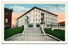 Dunn Ducker Hotel Missouri Pacific Stairway Polar Bluff MO 1920c postcard