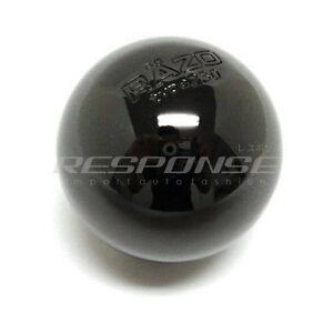 RAZO RA113 Shift Knob Black Chrome Aluminum Round/Ball Type 230g Weighted JDM