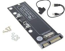 MacBook Air 2010 2011 A1370 A1369 SSD TO SATA USB CADDY ADAPTER CONVERTER D102