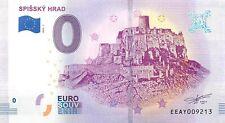 SPISSKY HRAD  - SOUVENIR BILJET 0 EURO,SLOVAKIA -2018/1-UNC(SB171)