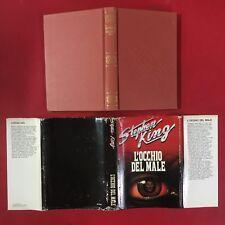 Stephen KING (BACHMAN) - L'OCCHIO DEL MALE Ed.CDE (1987) Libro Horror Thinner