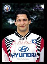 Hasan Salihamidzic Autogrammkarte Hamburger SV 1996-97 Original Signier+A 128606