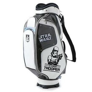 Disney STAR WARS Stormtrooper Caddy Bag Golf size 9 Unisex Men Women Japan