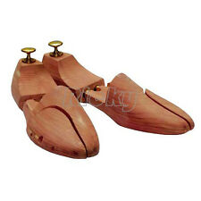 1 Pair Mens Cedar Wood Shoe Tree Stretcher Shaper AU 7 8 EU 41 42
