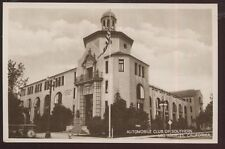 RP Postcard LOS ANGELES California/CA  AAA Automobile Club Building 1920's?