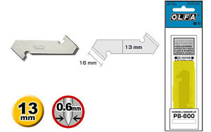 OLFA PB-800 Dual Edged Replacement Bl ades (3 pack) for the Olfa P-800 Handle