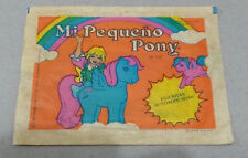 vintage MY LITTLE PONY  ARGENTINA 1983 rare unopened STICKERS pack Hasbro