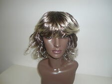 Long Synthetic Full Wig - #PL453 Color Mixed Grey (As Shown)