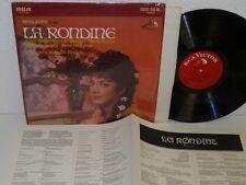 MOLINARI-PRADELLI Puccini:la Rondine MOFFO/BARIONI/SERENI LP RCA LSC-3033 SHRINK