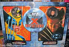 X-MEN RETRO WOLVERINE & MOVIE WOLVERINE X MUTATIONS 2 PACK TOY BIZ LE 15,000 NIB